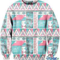 Aztec CrewNeck | fresh-tops.com