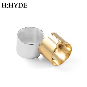 H:HYDE The new European and American trade fashion simple personality pierced ear cuffs ear clip earrings jewelry factory direct