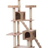 Pet Pals Group Luxurious Recycled Paper Cat House | www.hayneedle.com