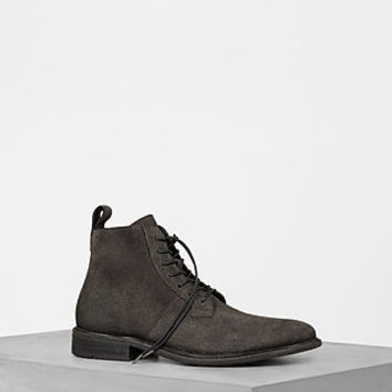 ALLSAINTS US: Mens Trent Boot (Charcoal Grey)