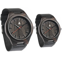 Couples Wooden Watches // Theo Red