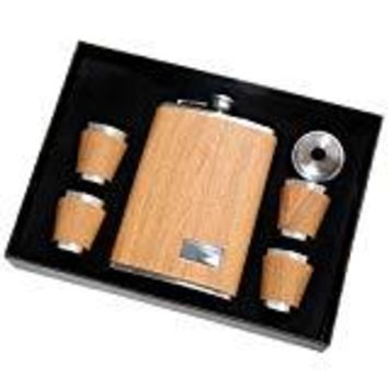 Stainless Flask Set