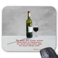 The Finest Wines Mouse Mat