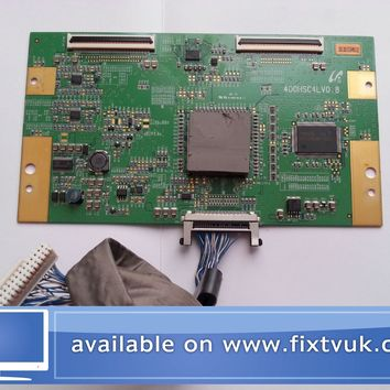 p30 samsung le40f71b 400hsc4lv0.8 t-con board include cable