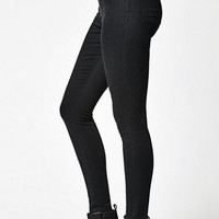 Kendall & Kylie September Black Front Zip Super High Rise Skinny Jeans at PacSun.com