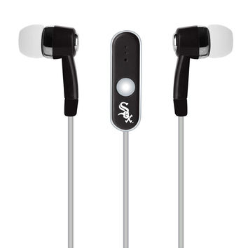 MLB Chicago White Sox Hands Free Ear Buds with Microphone