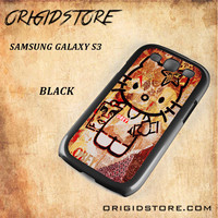 Obey Hello Kitty For Samsung Galaxy S3 Snap On and 3D Case