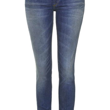 MOTO Mid Stone Baxter Jeans - Topshop