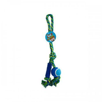 22in Dog Ball Rope Toy