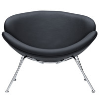 Nutshell Lounge Chair Black