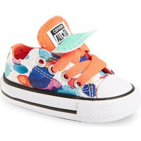 Converse Chuck Taylor® All Star® Double Tongue Low Top Sneaker (Baby, Walker & Toddler) | Nordstrom