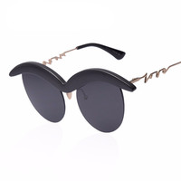 Vintage Retro Eyewear Cat eye Shades Fashion Sunglasses UV400