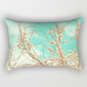 Blossoms Rectangular Pillow by ARTbyJWP