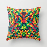 Everything Throw Pillow by Anai Greog