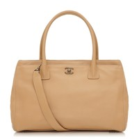 Chanel Tan Caviar Leather Handbag From Rewind Vintage Affiairs