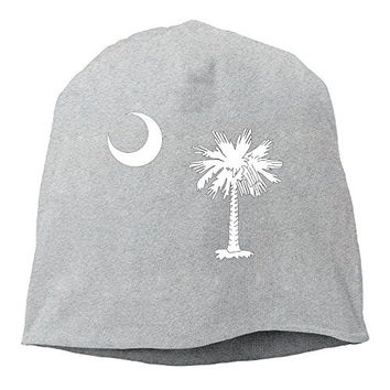 South Carolina State Flag Winter Warm Beanie Hat And Snapback