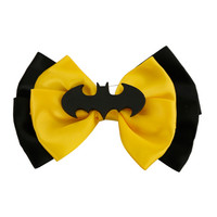 DC Comics Batman Cosplay Hair Bow