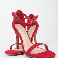Ankle Strapped Stiletto Heels
