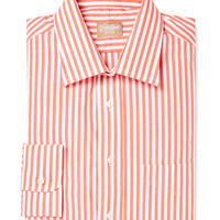 Stripe-Wide Bangal Dress Shirt