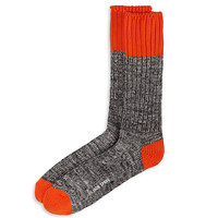 TWO-TONE BOOT SOCKS