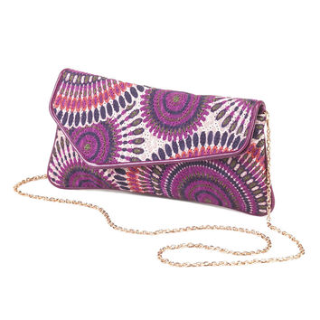 Radiant in Purple Clutch