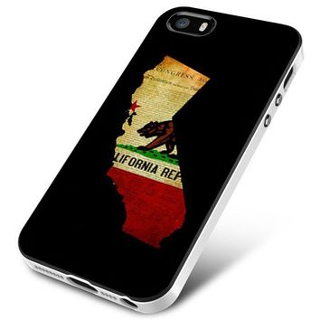 California State Grunge iPhone 5 | 5S | 5SE Case Planetscase.com