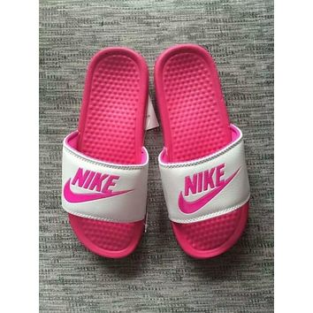 NEW NIKE MEN AND WOMEN SANDALS SLIPPERS SNEAKERS CANVAS 1