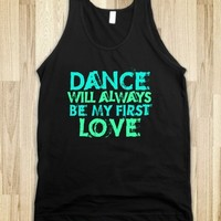 Dance is my first love - TANK neon