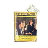 Gone With The Wind - Motion Picture Edition - 1939 - Clark Gable - Margaret Mitchell - Movie Stills - Soft Cover - Macmillan