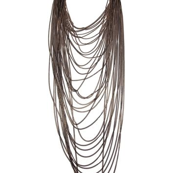 Rosantica Long Layered Chain Necklace