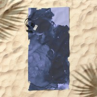 Sleep Tight Beach Towel by duckyb