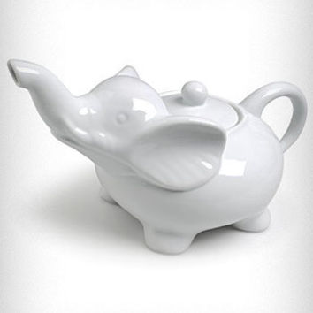 White Elephant Tea Pot | PLASTICLAND