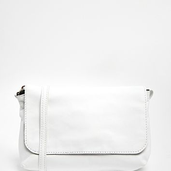ASOS Soft Leather Cross Body Bag