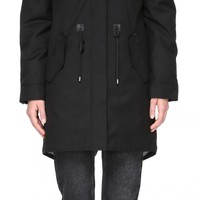 Mackage - RENA-X | DOWN FILLED PARKA BLACK/SILVER | WOMEN | MACKAGE