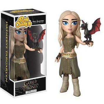 Funko Rock Candy: Game of Thrones-Daenerys Targaryen