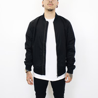 Derick Bomber Jacket (Black)