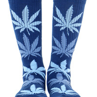 BLUE PLANTLIFE SOCKS