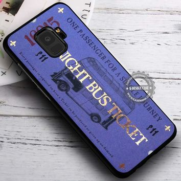 Harry Potter Knight Bus Ticket iPhone X 8 7 Plus 6s Cases Samsung Galaxy S9 S8 Plus S7 edge NOTE 8 Covers #SamsungS9 #iphoneX