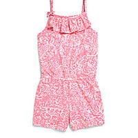 Lilly Pulitzer Kids - Girl's Clinton Romper - Saks Fifth Avenue Mobile