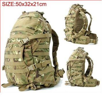 ONETOW Tactical  T A D military assault backpack Molle Airsoft Hunting Camping Survival Outdoor Sports hiking trip climbing bag