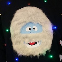 Light Up UGLY CHRISTMAS SWEATER!! - Bumble the Abominable Snow Monster