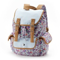Candie's Daisy Cargo Backpack (Purple)
