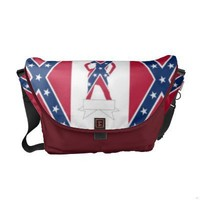 Confederate girl commuter bag from Zazzle.com