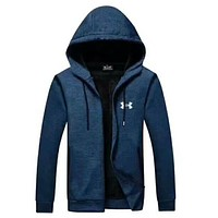 UNDER ARMOUR Women Men Lover Top Coat Blue I-A001-MYYD