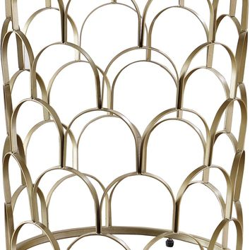 Finn End Table Gold Stainless Steel