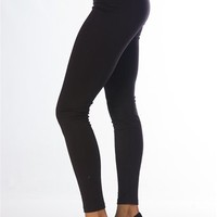 Thick Waistband Leggings - Black at Lucky 21 Lucky 21