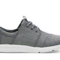 STEEL GREY POLY WOMEN'S DEL REY SNEAKERS