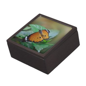 African monarch butterfly premium jewelry boxes