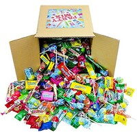 Assorted Candy Party Mix, 4 LB Bulk: Fire Balls, Airheads, Jawbusters, Laffy Taffys, Tootsie Rolls and Much More of Your Favorite Candy!