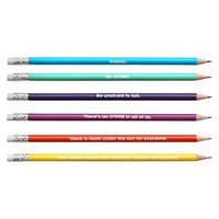 Yoobi™ x i am OTHER Round No. 2 Pencils Pre-sharpened, 18ct - Multicolor